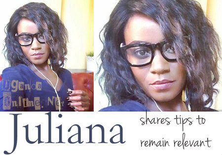 Juliana shares tips on remaining relevant