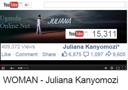 Stats to Juliana's Woman song