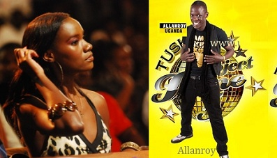 Judge Juliana at the Tusker Project Fame 5 will not hesitate to tell off Allan when he is off key.