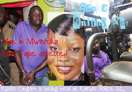 Kizito Ongom after his arrest