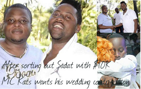 Ivan and Sadat make up but inset is Mc Kats with fresh demands