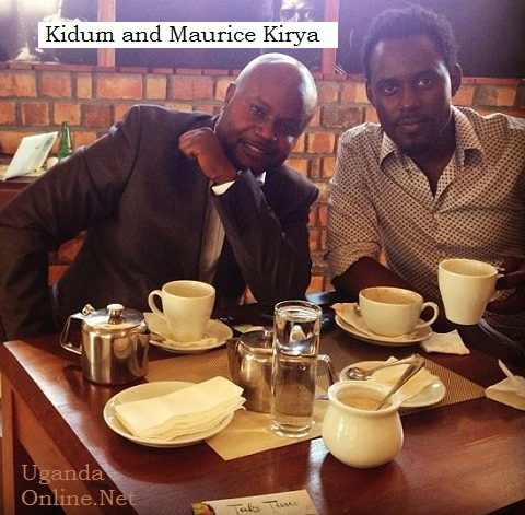 Kidum and Maurice Kirya at The SoundCup