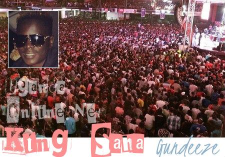 King Saha's Gundeeze concert was massive
