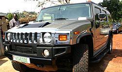 Kiwedde's Hummer which he sold due to debts