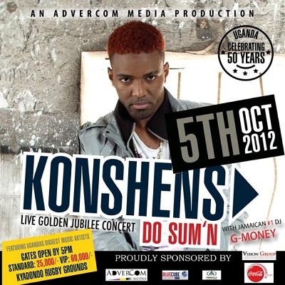 Konshens - Live Golden Jubillee Concert