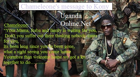 Chameleone's message to Joseph Kony