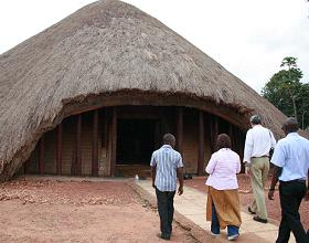 Kasubi Tombs before the March 16 fire that gutted them.