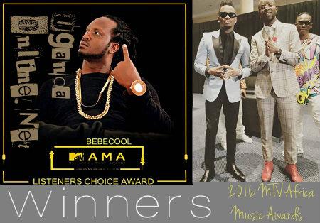 2016 MTV Africa Music Award winners