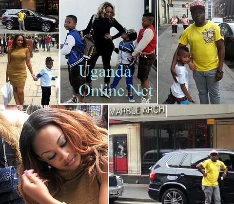 The Semwanga's on holiday in tghe UK