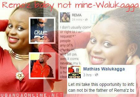 Rema's baby not mine- Matthias Walukagga