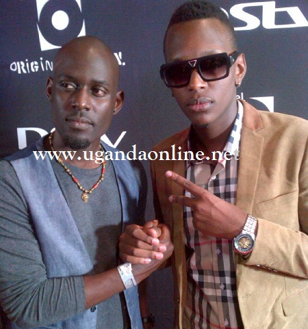 Maurice Kirya and Tonix in South Africa during the CHOMVA 2012
