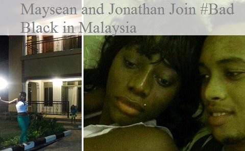Maysean and Jonathan join Bad Black in Malaysia
