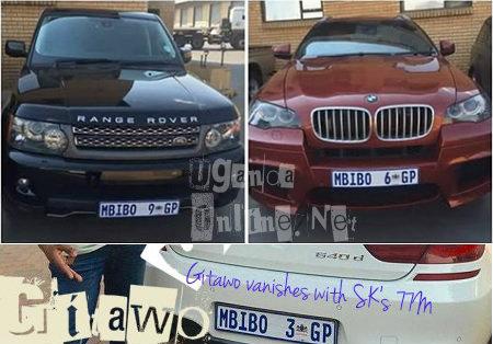 Chris Mbibo's rides on display
