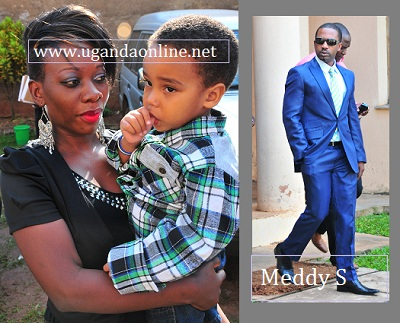 Bad Black looking happy with her son Jonathan with co-accused Meddy Ssentongo