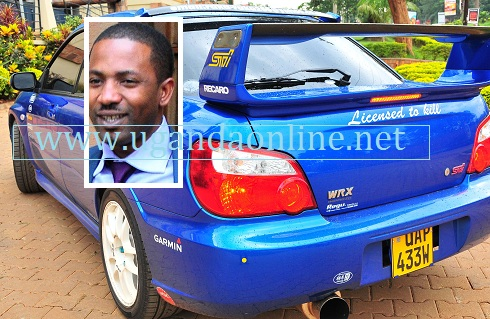 Meddie Ssentongo for Pearl of Africa Rally