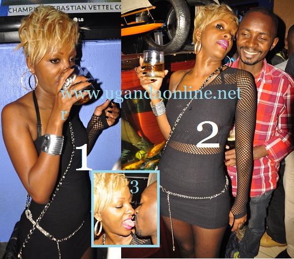 G-Snake gets cozy with lover  in Club
