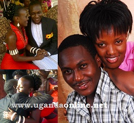 Brian Mulondo and the love of his life Manuela Pacutho