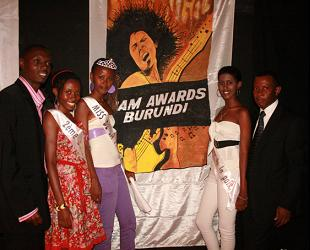 PAM Awards Chairman Isaac Mulindwa at the launch in Burundi