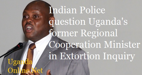 Ex-Minister Isaac Musumba was facing police in India over extortion allegations