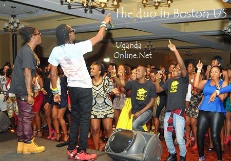 Radio and Weasel performing in Boston US