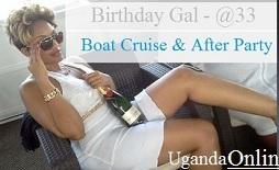 Zari's birthday boat cruise