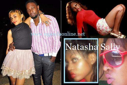 Nickita and Gareth. Inset is Natasha Sally who is Nickita's case