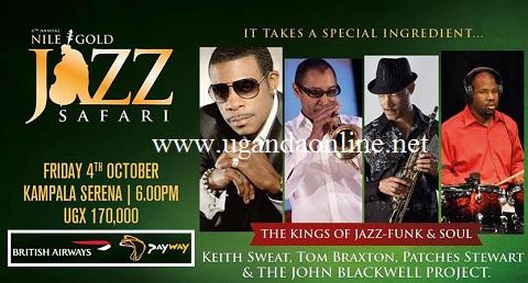Nile Gold Jazz Safari show