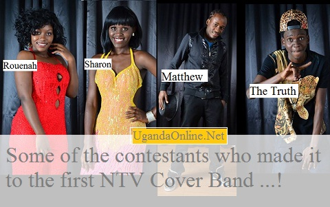 Rouena, Sharon, Matthew and The Truth are some of the 14 contestants NTV Cover Band