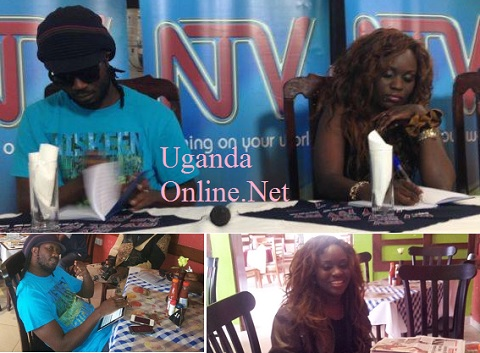 Talent XP judges Bebe Cool and Jackie in action