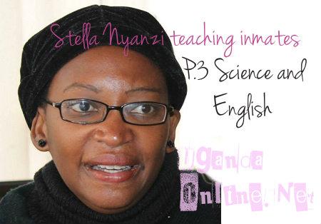 Stella Nyanzi has taken her lessons to Luzira