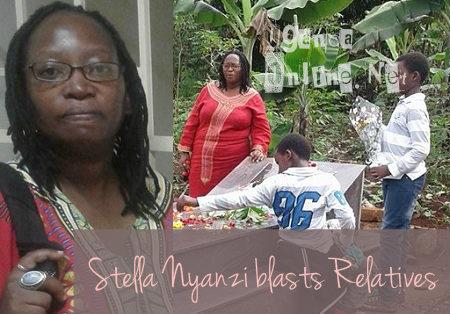 Stella Nyanzi blasts relatives