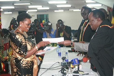 Betty Kamya was a presidential candidate in the 2011 Elections