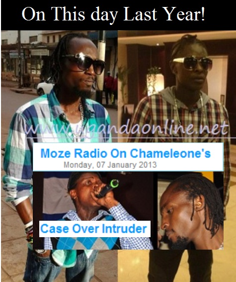 Chameleone and Moze Radio were at war on this day last year