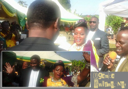 Oyimuke and Hadija during their introduction ceremony