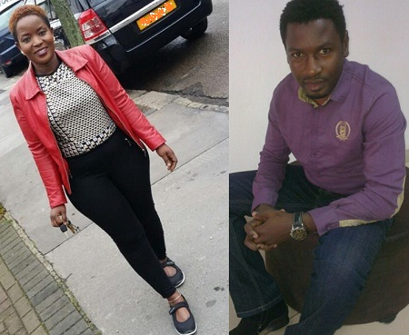 Oyimuke and his wife to be
