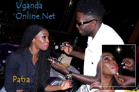 Bobi Wine was Patra's make-up stylist before the shoot