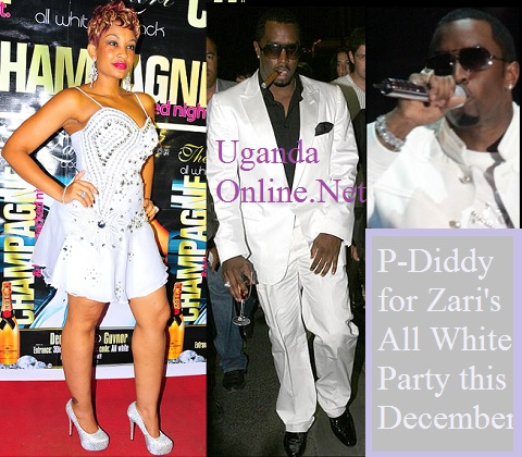 P-Diddy could grace Zari's All White Party this December