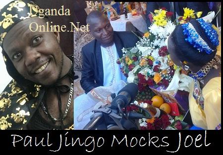 Paul Jingo has mocked Joel Isabirye