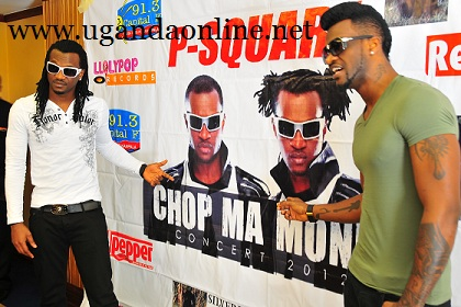 Paul and Peter Okoye at Serena Hotel during their press conference