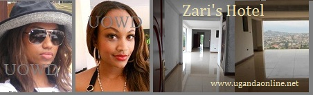 Priscilla Ray, Zari and her Hotel on Sir Apollo Kaggwa that is about to be completed.
