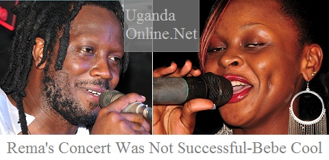 Rema's concert was not successful - Bebe Cool