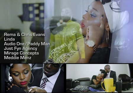 Linda Video by Rema and Chris Evans