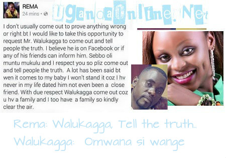 Rema and Walukagga clear the space