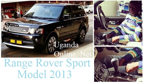 Ivan Ssemwanga in his latest ride