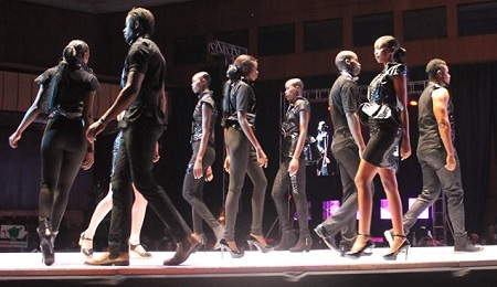 On the catwalk and the Abryanz awards