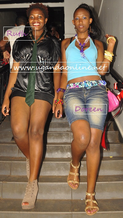 Models Ruth and Doreen Kabareebe