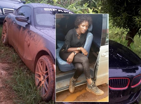 Sipapa's BMW and Fifif Da Queen