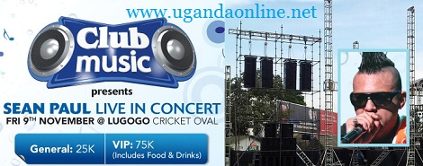 Sean Paul live in Concert at Lugogo Cricket Oval