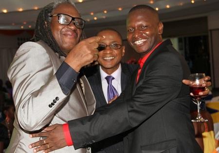 Alex Ndaula, Peter Sematimba and Joel Isabirye