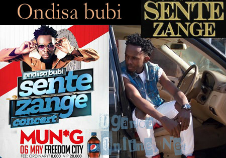 Mun G in Ondisa Bubi Sente Zange Concert